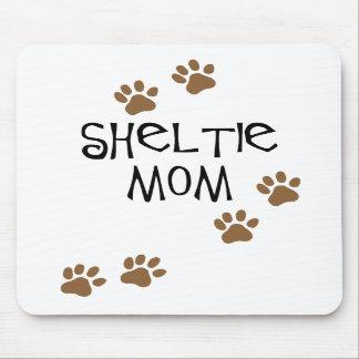 Mamá de Sheltie Tapete De Ratones