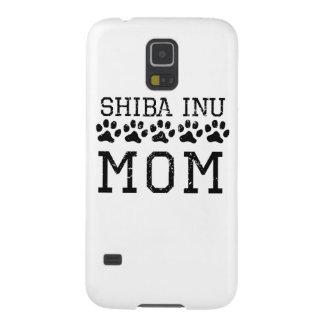Mamá de Shiba Inu (apenada) Funda Para Galaxy S5
