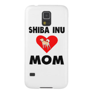Mamá de Shiba Inu Carcasa De Galaxy S5