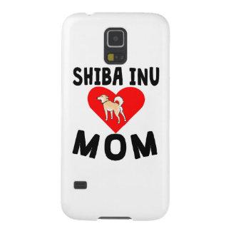 Mamá de Shiba Inu Fundas De Galaxy S5