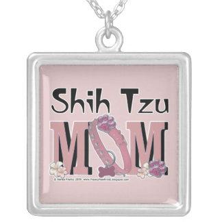 MAMÁ de Shih Tzu Colgante Cuadrado