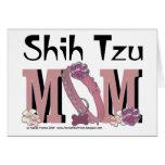 MAMÁ de Shih Tzu Felicitación