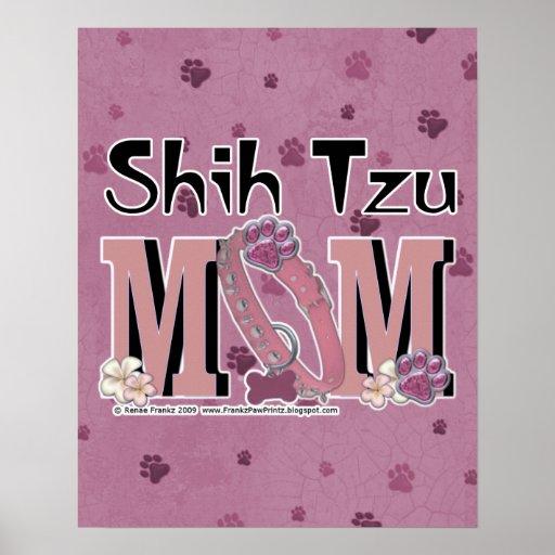 MAMÁ de Shih Tzu Posters