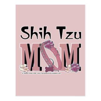 MAMÁ de Shih Tzu Tarjetas Postales