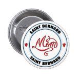 Mamá de ST BERNARD Pin