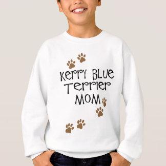 Mamá de Terrier de azul de Kerry Camisas