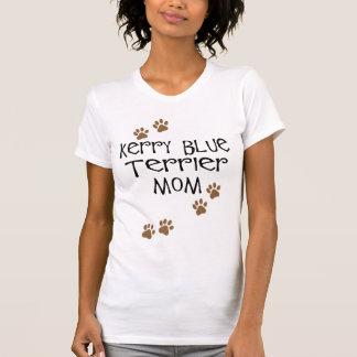 Mamá de Terrier de azul de Kerry Playeras