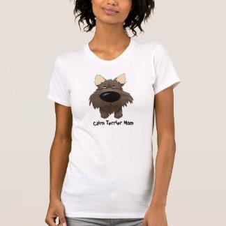 Mamá de Terrier de mojón Camisetas