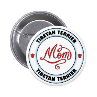 Mamá de TERRIER TIBETANO Pins