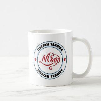 Mamá de TERRIER TIBETANO Taza De Café