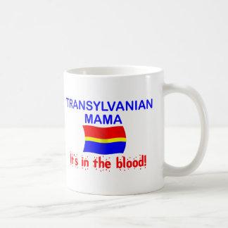 Mamá de Transylvanian - sangre Taza De Café