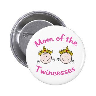 Mamá de Twincess Pin Redondo 5 Cm