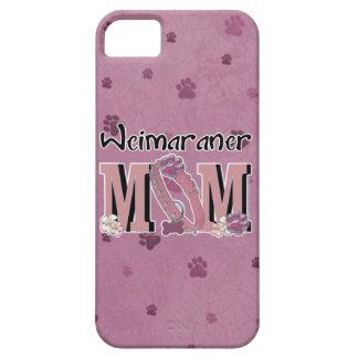 MAMÁ de Weimaraner iPhone 5 Carcasa