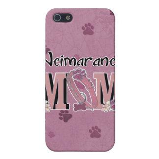 MAMÁ de Weimaraner iPhone 5 Cárcasas