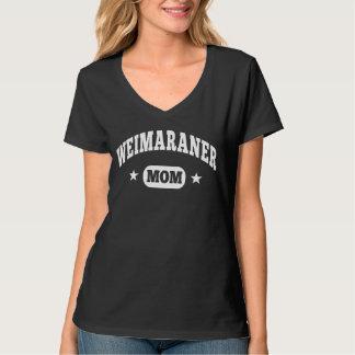 Mamá de Weimaraner Remeras