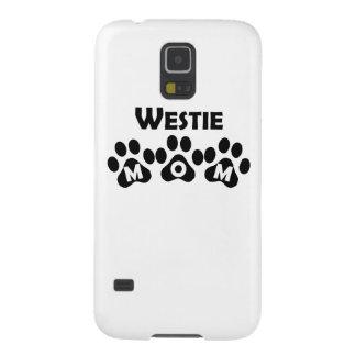 Mamá de Westie Carcasa De Galaxy S5