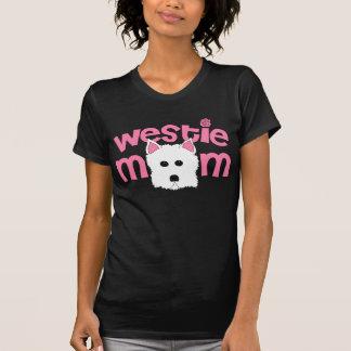 Mamá de Westie Tee Shirt