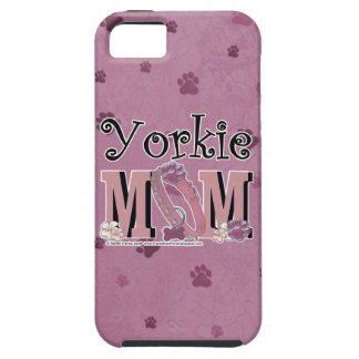 MAMÁ de Yorkie iPhone 5 Carcasas