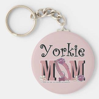 MAMÁ de Yorkie Llaveros Personalizados