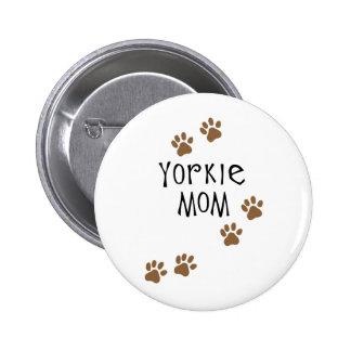 Mamá de Yorkie Pin