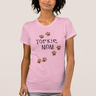 Mamá de Yorkie Camiseta