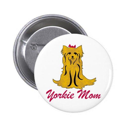Mamá de Yorkshire Terrier Yorkie Pin