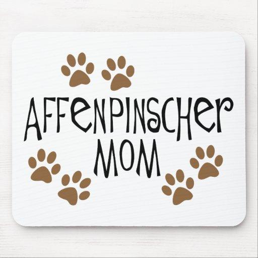 Mamá del Affenpinscher Alfombrilla De Raton