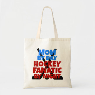 Mamá del amante del hockey bolsas