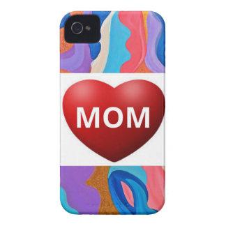Mamá del amor de la pluma iPhone 4 fundas