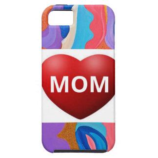 Mamá del amor de la pluma iPhone 5 fundas