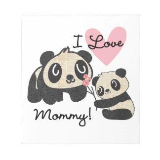 Mamá del amor de las pandas I Bloc