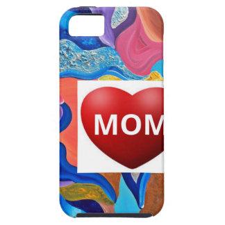 Mamá del amor del flor funda para iPhone 5 tough