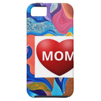 Mamá del amor del flor funda para iPhone SE/5/5s