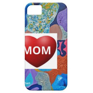 Mamá del amor del oído iPhone 5 fundas