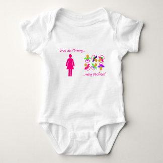 Mamá del amor uno….Muchos pacificadores Body Para Bebé