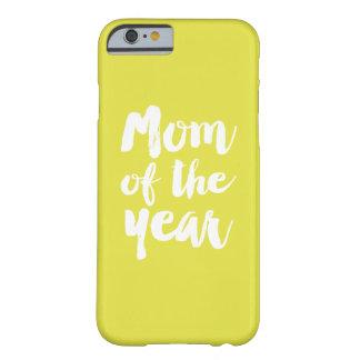 Mamá del año funda para iPhone 6 barely there