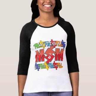 Mamá del autismo - amor de I mi niño Camisetas