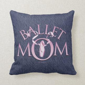 Mamá del ballet cojin