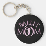 Mamá del ballet llavero personalizado