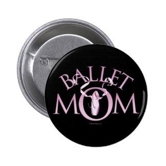 Mamá del ballet pin redondo 5 cm