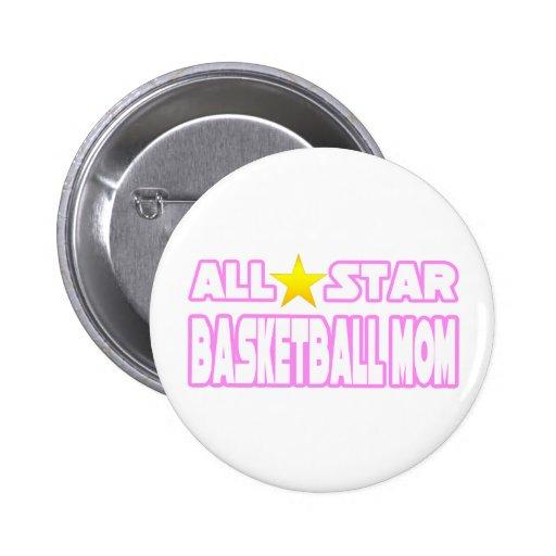 Mamá del baloncesto de All Star Pins