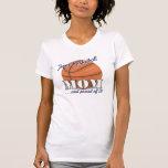 Mamá del baloncesto del tigre camiseta