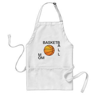 Mamá del baloncesto delantal