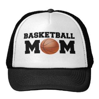 Mamá del baloncesto gorras
