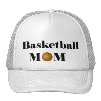 mamá del baloncesto gorras de camionero