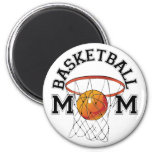 Mamá del baloncesto imanes