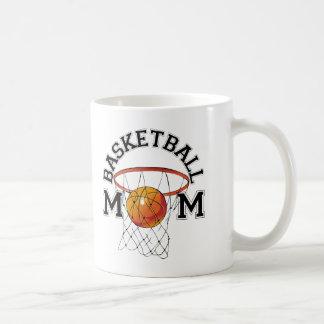 Mamá del baloncesto taza clásica