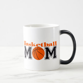 Mamá del baloncesto taza mágica