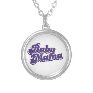 Mamá del bebé collar personalizado