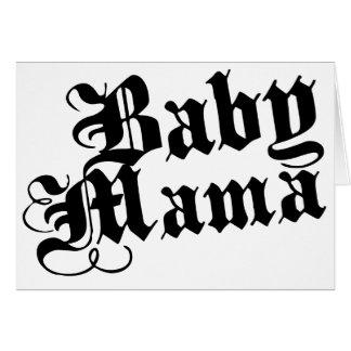 Mamá del bebé felicitacion